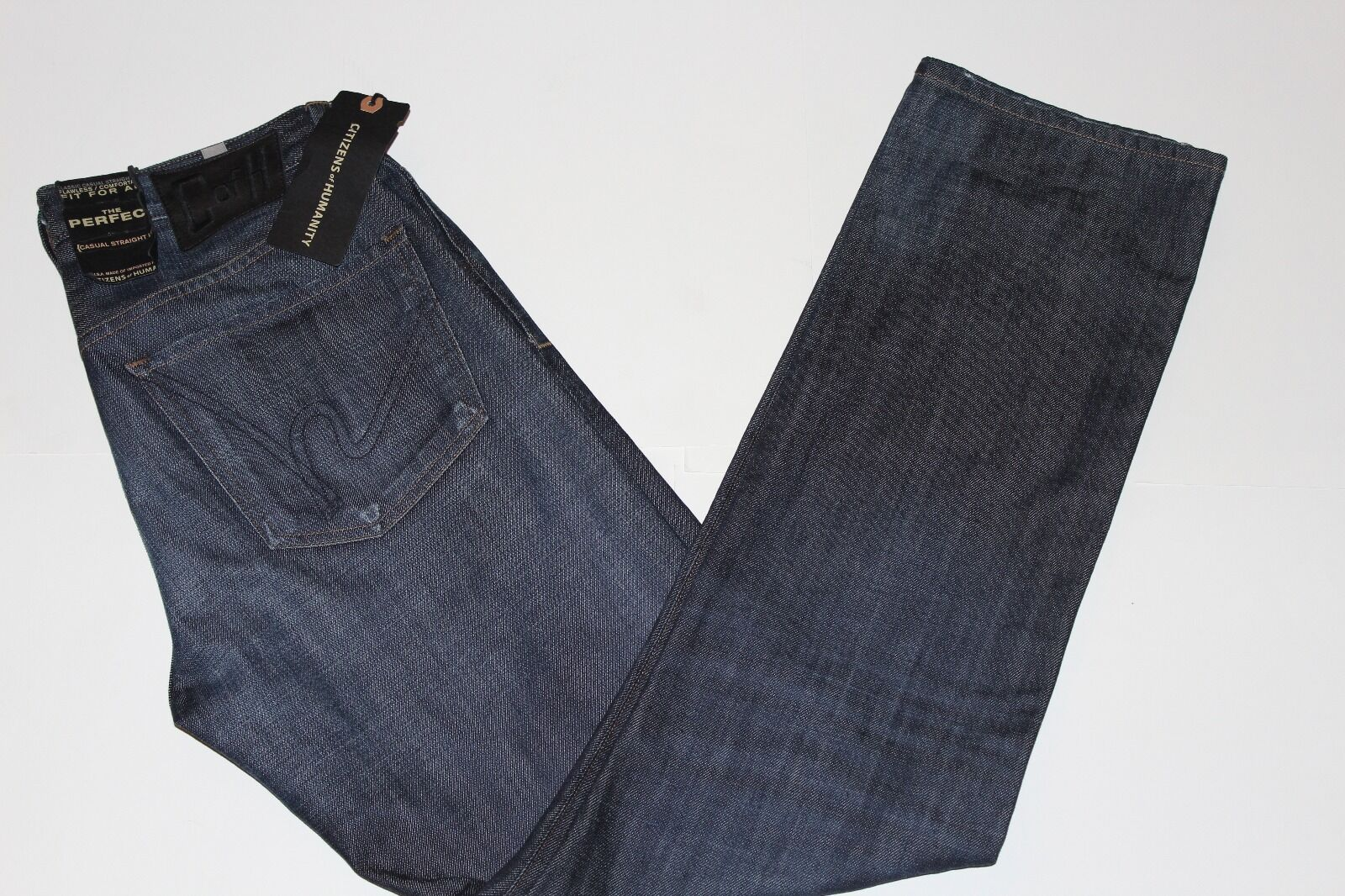 BNWT CITIZENS OF HUMANITY Mens PERFECT Casual Straight Leg Jeans Size 31x33