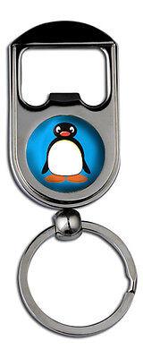 Pingu Standard Bottle Opener Keyring