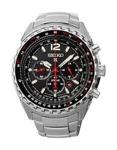 Seiko SSC261 SSC261P1 Prospex Solar Mens Watch WR100m Chronograph RRP $1150.00
