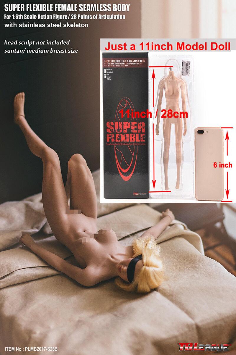 Tbleague phicen bis 6 plmb2017-s23b creme medium 'weibliche mädchen körper 12  - figur