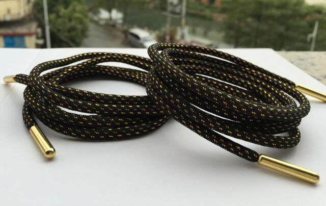Green Round Shoelaces Metal Tip Hiking Walking Skate Boots Shoe Laces 120cm