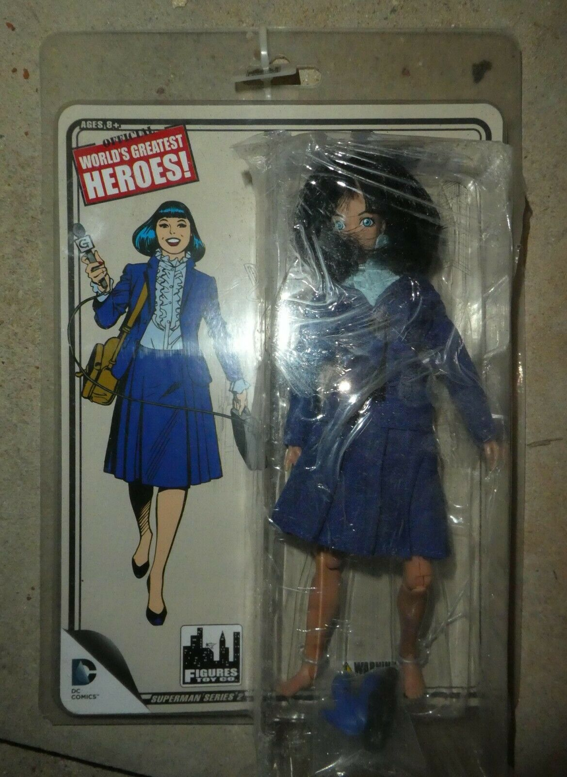 Dc Figure Lois Lane Daily planet  worlds greatest  8  Sealed superman