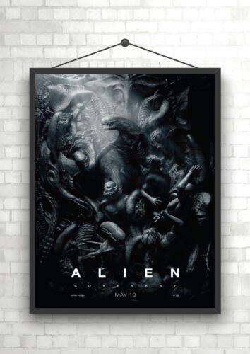 Alien Covenant Classic Movie Poster Art Print A0 A1 A2 A3 A4 Maxi
