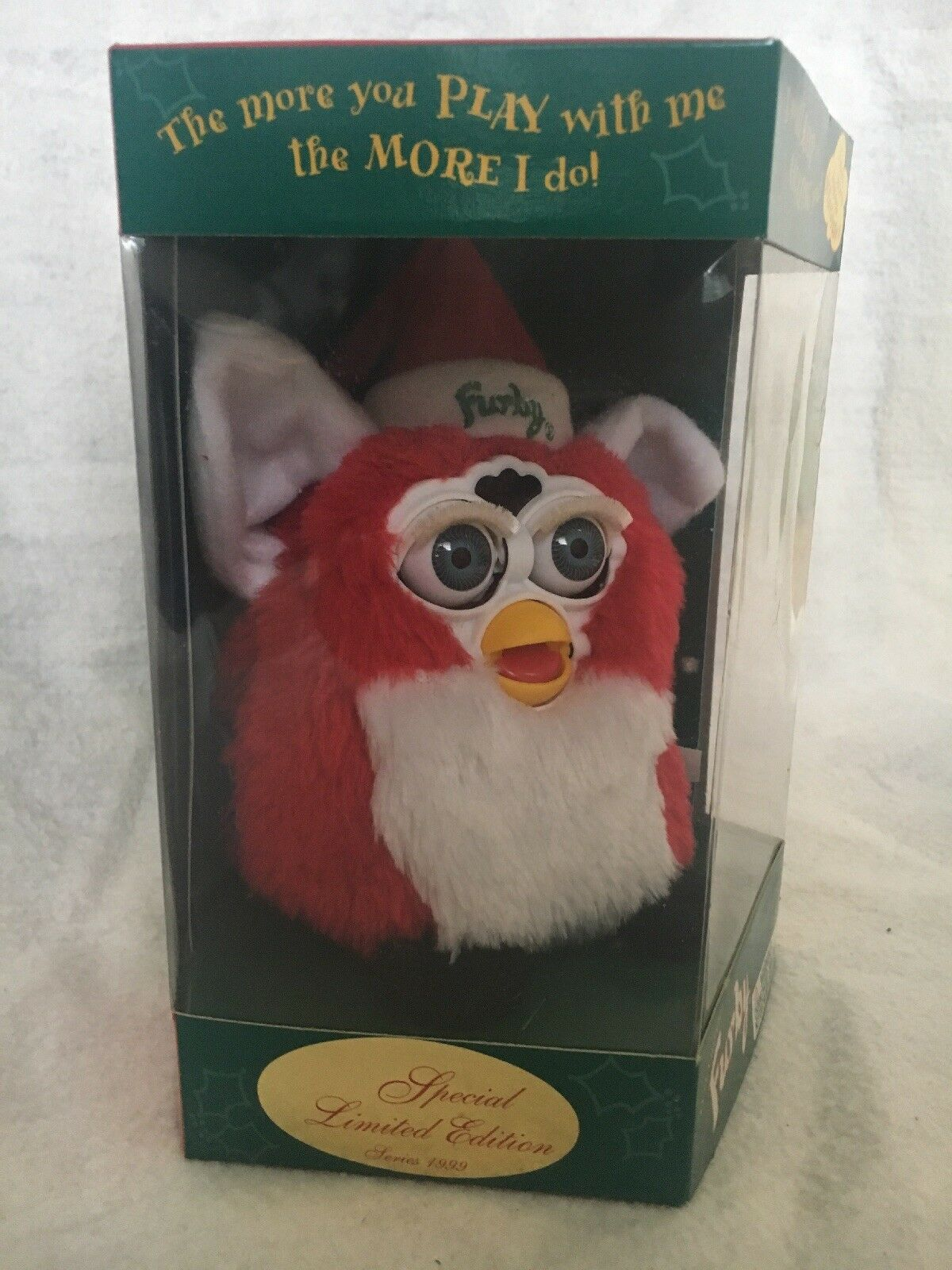 Special Limited Edition Series 1999 Santa Furby New In Box
