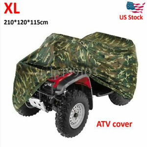 Xl Dust Waterproof Atv Quad Bike Cover For Polaris Honda Yamaha Can Am Suzuki Us Ebay
