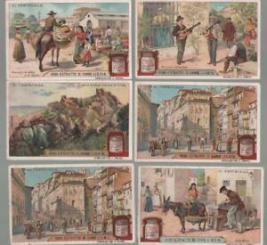 LIEBIG N. 1004 AL PORTOGALLO SERIE COMPETA 6 FIGURINE ITALIA - Italia - LIEBIG N. 1004 AL PORTOGALLO SERIE COMPETA 6 FIGURINE ITALIA - Italia