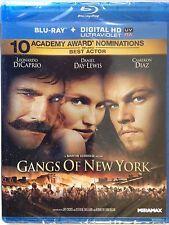 NEW/SEALED - Gangs of New York (Blu-ray Disc, 2011) w/ HD Ultraviolet