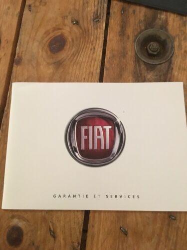 Carnet D Entretien Fiat D Origine Neuf Et Vierge