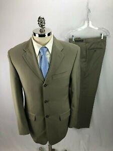 Giorgio-Cosani-Men-039-s-Beige-Suit-36R-33-x-30