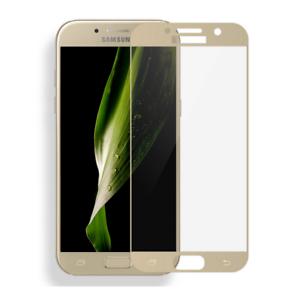 Samsung-Galaxy-A5-2017-FULL-SCREEN-FULL-COVER-3D-Schutzglas-Panzerfolie-Gold