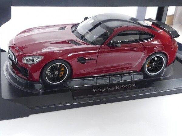 1/18 NOREV MERCEDES AMG GT R 2017 ROSSO 183452