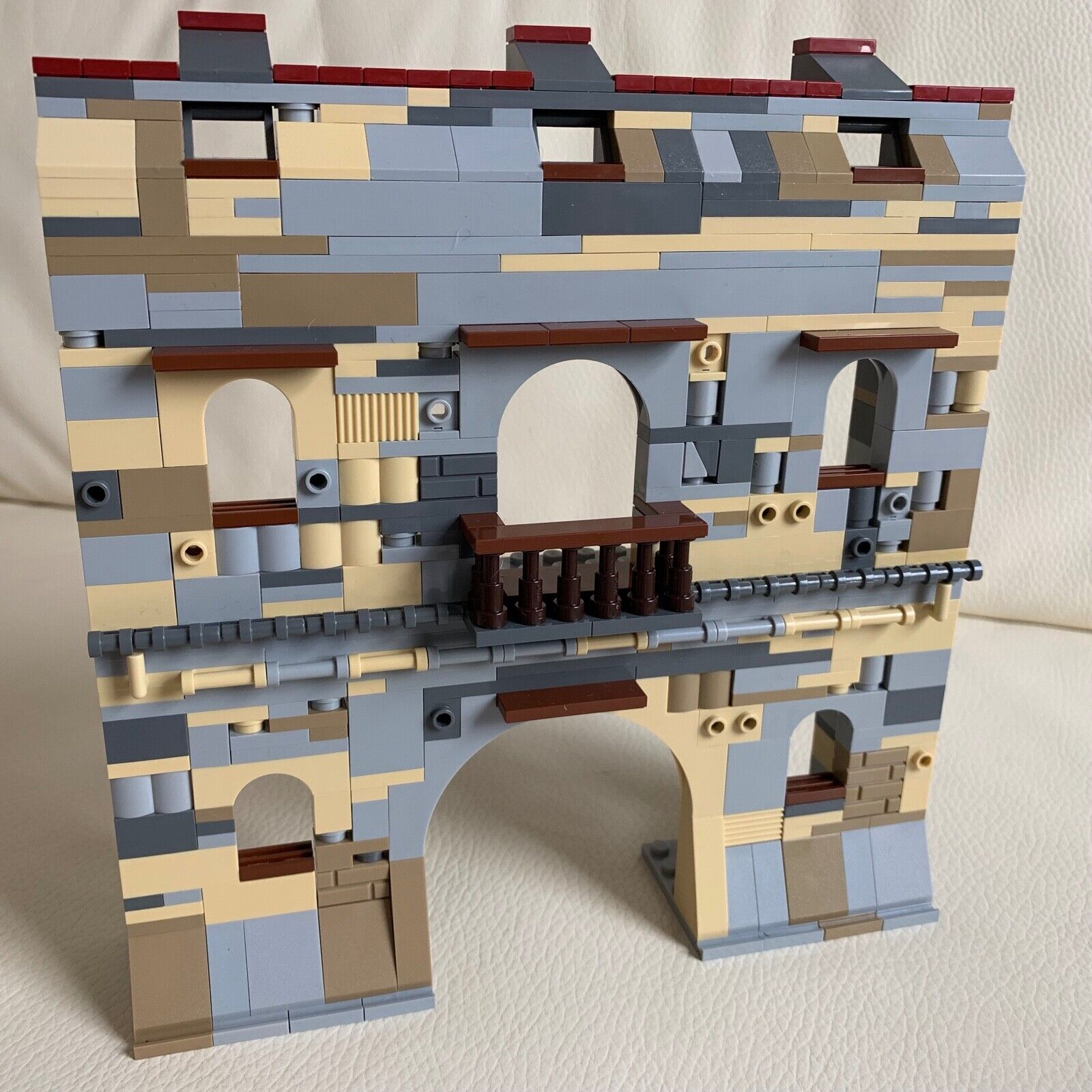 LEGO pezzi ORIGINALE TEDESCA Rovine Castello costruzione solida Diorama My Design 88