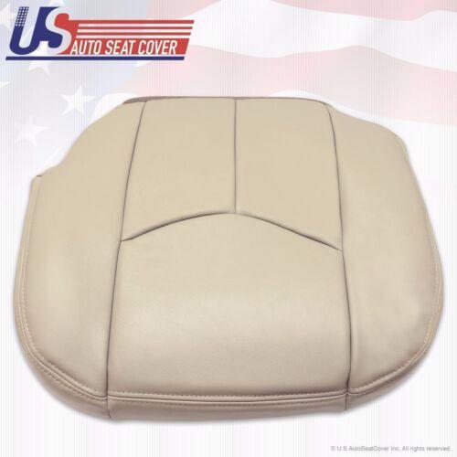 2003 to 2006 Tahoe Suburban Yukon Driver Bottom Leather Seat Cover Shale Tan 522