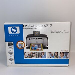 HP Photosmart A717-Compact Digital Inkjet-Photos Up 5x7 Printer