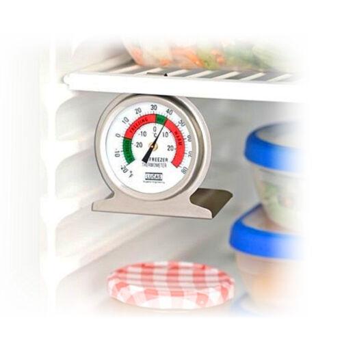 Kühlschrankthermometer Thermometer  Kühlschrank Temperatur Edelstahl Wenko