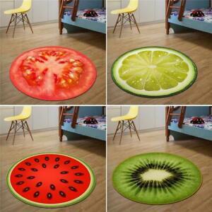 Round-Carpet-Fruit-Pattern-Floor-Carpet-Non-Slip-Comfy-Rug-Mat-Home-Decor-N-V0T4