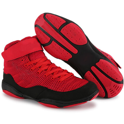 Unisex Wrestling MMA Shoes Boxing Trainers Athletic Mesh Shoes Martial Arts