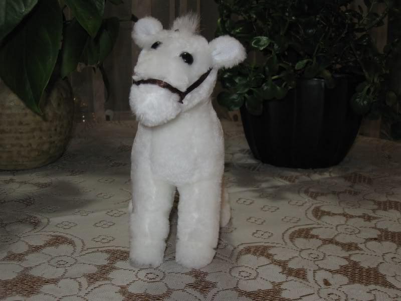 Dutch Holland Vintage Weiß Plush Horse Flevo Toys