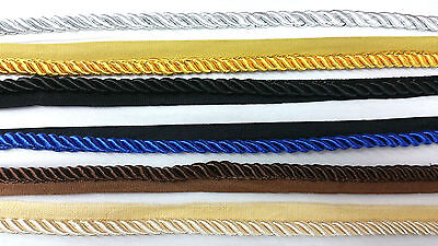 Beschouwend 8mm Twisted Rope, 6 Colours Braid Cord Piping With Edging Stevige Constructie