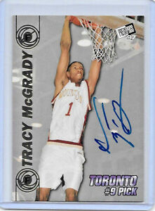 fd70eb59e1bd 1997 97 PRESS PASS TRACY MCGRADY DOUBLE THREAT ROOKIE AUTO ON ...