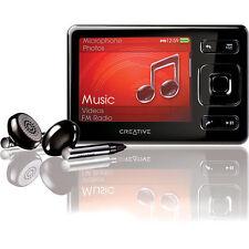 Creative Zen MX Black 8GB FM Radio Voice Recorder AAC WMA WAV MP3 Audible Player