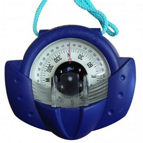 BLUE By PLASTIMO NAUTOS 63870 IRIS 50 HAND BEARING COMPASS