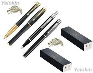 Luxury Pen Sets Black w Gold & Black w Chrome Urban IM Ballpoint / Rollerball