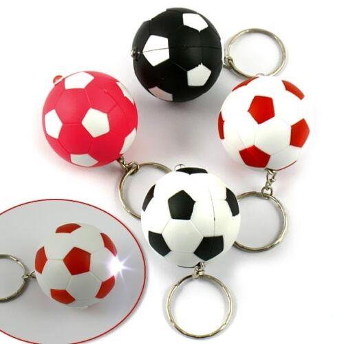 mit Licht Geschenk 1 Schlüsselanhänger Fußball Mitgebsel zum 3,5cm