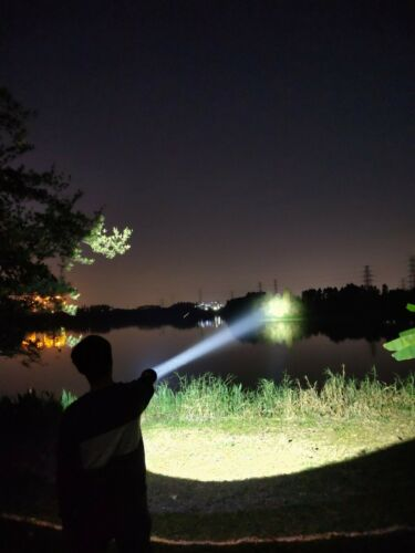 New Manker MK35 II Luminus SBT-90 GEN2 6000 Lumens LED Flashlight With Battery