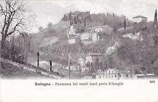 BOLOGNA - Panorama dei Monti fuori Porta d'Azeglio
