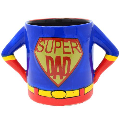 Super papa Café Thé Boisson Tasse 3D Céramique Cadeau Fête des Pères Homme cuisine nouveau