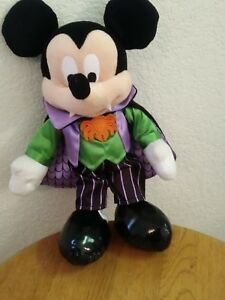 Disney Parks Mickey Mouse Vampire Plush Halloween 2019 NEW