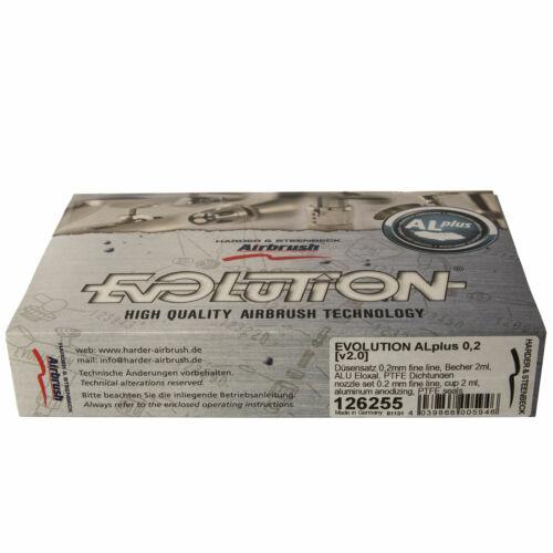 Evolution AL plus 0,2 mm extrem leichte Aluminium Airbrush Pistole 126255