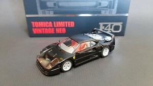 TOMICA-LIMITED-VINTAGE-NEO-Ferrari-F40-Black-1-64