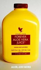 8 bottles of Forever Aloe Vera Juice 1 Liter FREE SHIPPING!!! Only $18.00 each
