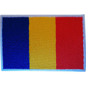 Cambodia Flag Patch Iron On//Sew On Clothes Jacket Embroidered Cambodian Badge