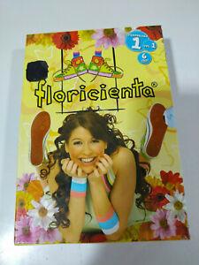 FLORICIENTA-Temporada-1-Volumen-1-6-x-DVD-Edicion-Espana-12-Capitulos