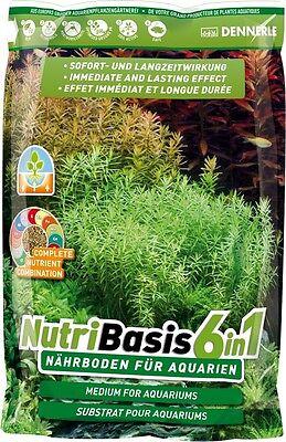 Haustierbedarf Dennerle Nutribasis 6in1 2,4 Kg Nährboden Für Aquarien Fische & Aquarien