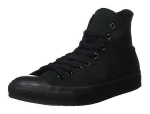 Converse-Chuck-Taylor-All-Star-Hi-Tops-Black-Mono-All-Sizes-Mens-Sneakers-Shoes