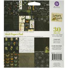 "Prima Marketing Paper Pad 6""X6"" 30/Pkg-Forever Green"