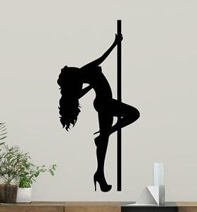 Pole-Dance-Wall-Decal-Dancer-Poster-Vinyl-Sticker-Striptease-Decor-Mural-21xxx