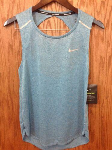 Camiseta Nike Breathe deportiva 83a11 mujer claro mangas sin para azul rqwZYRrxX