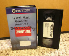 IS WAL-MART GOOD FOR AMERICA documentary VHS economy PBS politics '04 Sam Walton