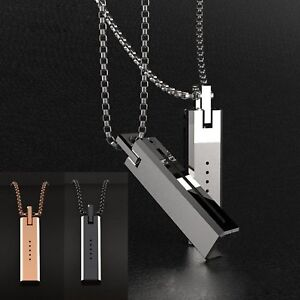 Stainless-Steel-Necklace-Chain-Pendant-Magnetic-Holder-for-Fitbit-Flex-2-Fashion