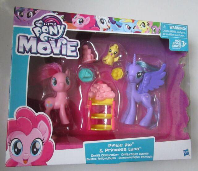 My Little Pony The Movie Pinkie Pie Princess Luna Sweet Celebration Hasbro NEW