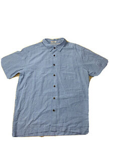 Quiksilver Mens Quicksilver Waterman Collection Size M 90's Checked Shirt
