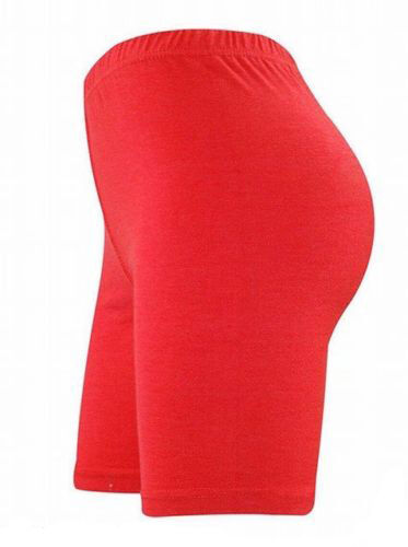 WOMENS COTTON LYCRA CYCLING SHORTS GYM DANCE SPORTS ACTIVE CASUAL OUTDOOR WEAR