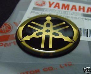 Yamaha Tuning Fork Sticker Decal 30mm R1 R6 FZ1 FZ6 x 1 BLUE ***UK STOCK***