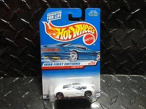 Image Is Loading Hot Wheels  White Ford Gt  W