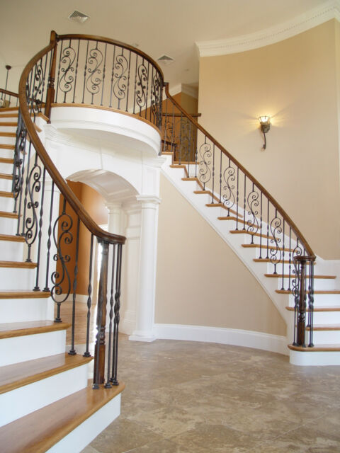 fitts stair parts wrought iron balusters options avail